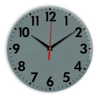 Настенные часы Ideal 927 серо синий