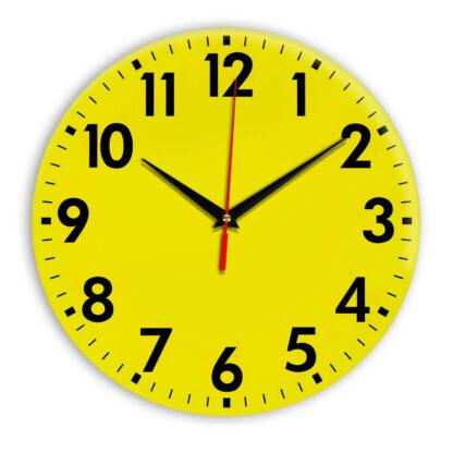 Настенные часы Ideal 927 желтые