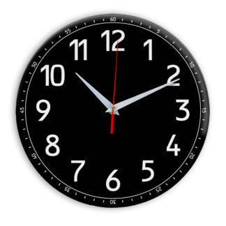 Настенные часы Ideal 928 черные