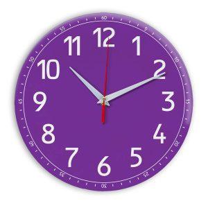 Настенные часы Ideal 928 фиолетовые