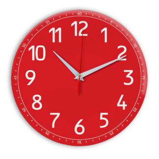 Настенные часы Ideal 928 красный