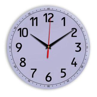 Настенные часы Ideal 928 сиреневый светлый