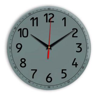 Настенные часы Ideal 928 серо синий