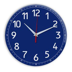 Настенные часы Ideal 928 синий темный