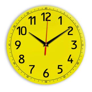 Настенные часы Ideal 928 желтые