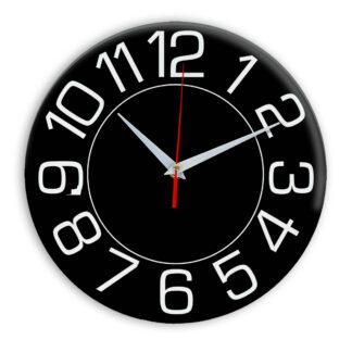 Настенные часы Ideal 930 черные