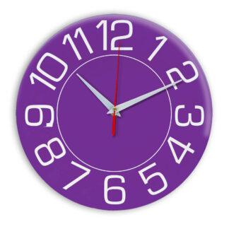 Настенные часы Ideal 930 фиолетовые