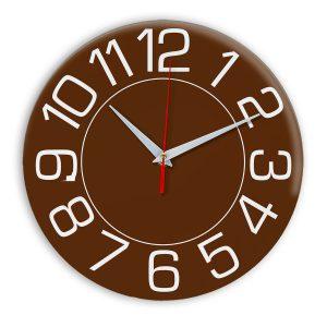 Настенные часы Ideal 930 коричневый