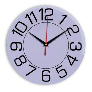Настенные часы Ideal 930 сиреневый светлый