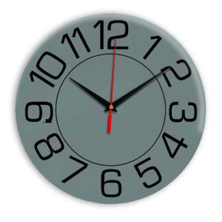 Настенные часы Ideal 930 серо синий