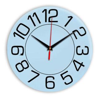 Настенные часы Ideal 930 светло-голубой