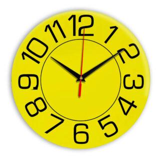 Настенные часы Ideal 930 желтые