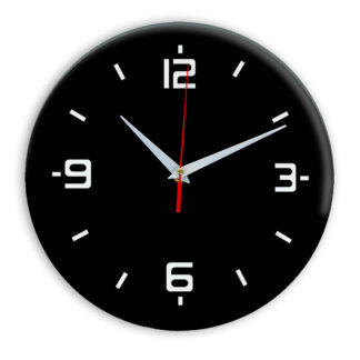 Настенные часы Ideal 934 черные