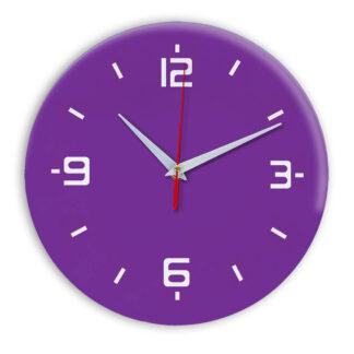 Настенные часы Ideal 934 фиолетовые