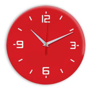Настенные часы Ideal 934 красный