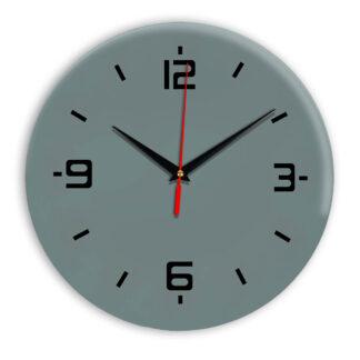 Настенные часы Ideal 934 серо синий