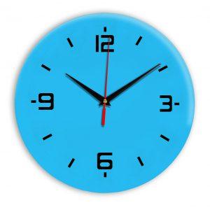 Настенные часы Ideal 934 синий светлый