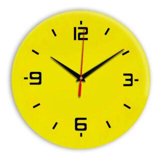 Настенные часы Ideal 934 желтые