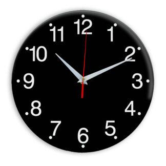 Настенные часы Ideal 935 черные