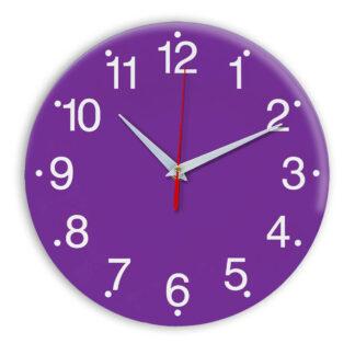 Настенные часы Ideal 935 фиолетовые