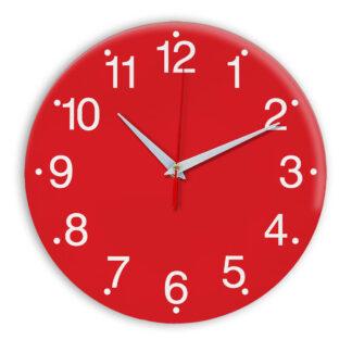 Настенные часы Ideal 935 красный