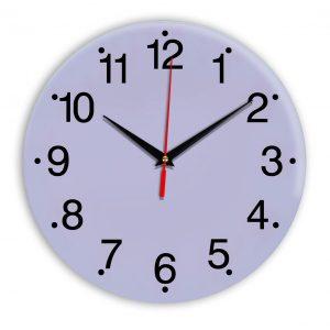 Настенные часы Ideal 935 сиреневый светлый