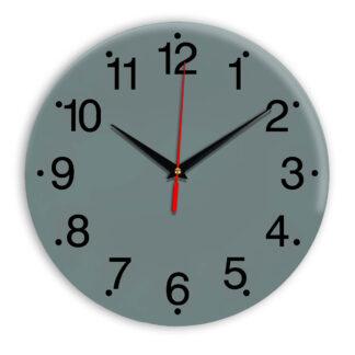 Настенные часы Ideal 935 серо синий