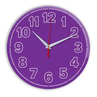 Настенные часы Ideal 936 фиолетовые