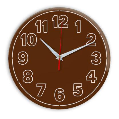 Настенные часы Ideal 936 коричневый