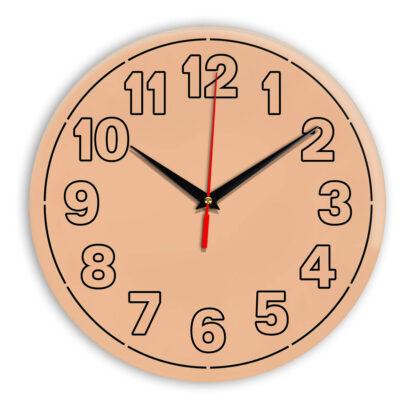 Настенные часы Ideal 936 оранжевый светлый