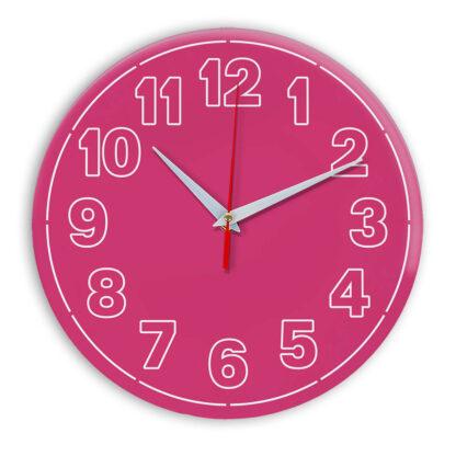 Настенные часы Ideal 936 розовые