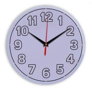 Настенные часы Ideal 936 сиреневый светлый