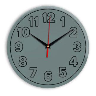 Настенные часы Ideal 936 серо синий