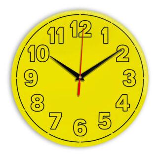 Настенные часы Ideal 936 желтые