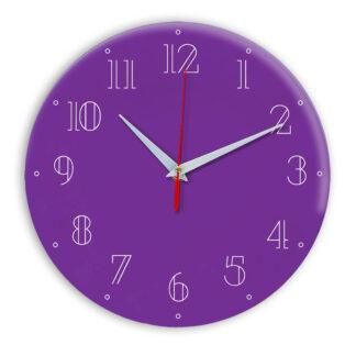 Настенные часы Ideal 937 фиолетовые