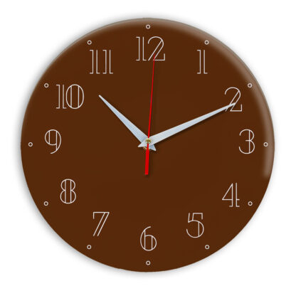Настенные часы Ideal 937 коричневый