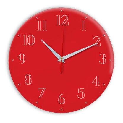 Настенные часы Ideal 937 красный