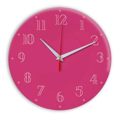 Настенные часы Ideal 937 розовые