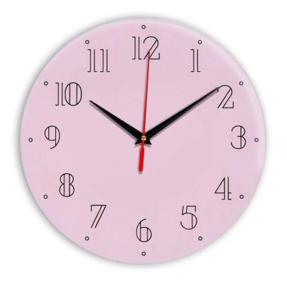 Настенные часы Ideal 937 розовые светлый