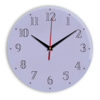 Настенные часы Ideal 937 сиреневый светлый