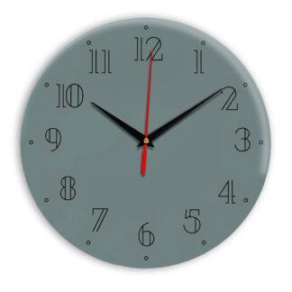 Настенные часы Ideal 937 серо синий