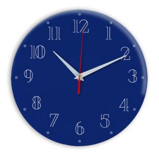 Настенные часы Ideal 937 синий темный