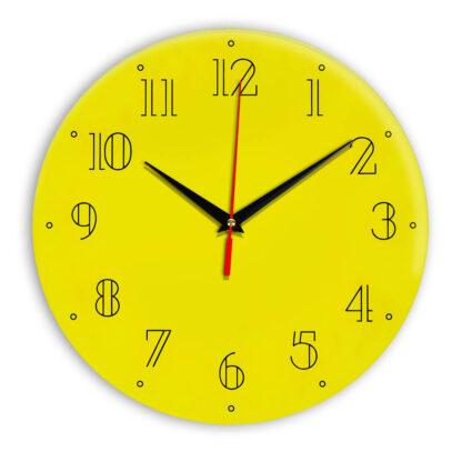 Настенные часы Ideal 937 желтые