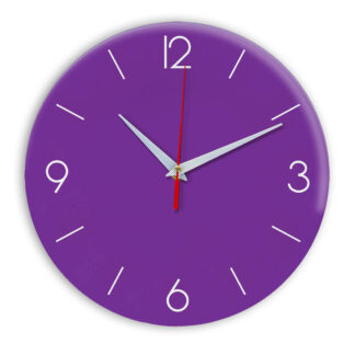 Настенные часы Ideal 939 фиолетовые