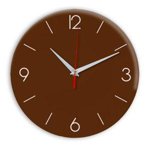 Настенные часы Ideal 939 коричневый