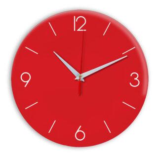 Настенные часы Ideal 939 красный