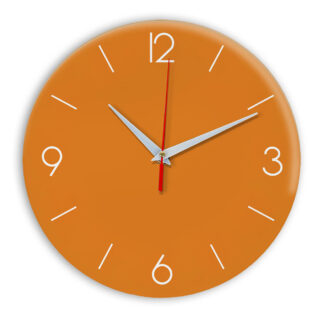 Настенные часы Ideal 939 оранжевый
