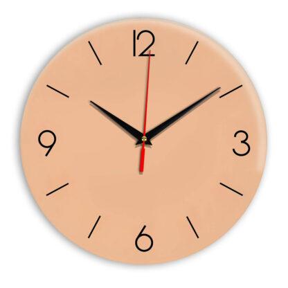 Настенные часы Ideal 939 оранжевый светлый