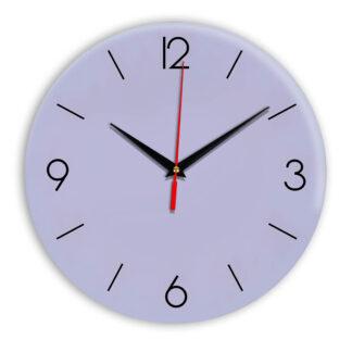 Настенные часы Ideal 939 сиреневый светлый