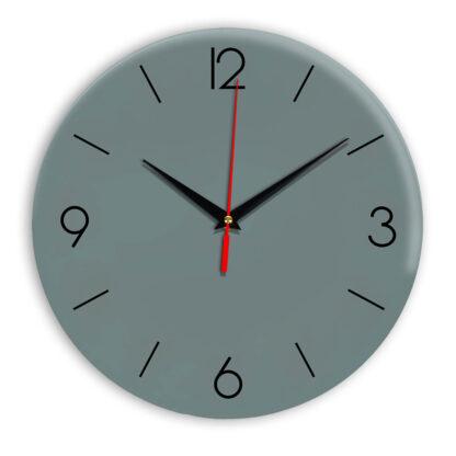 Настенные часы Ideal 939 серо синий